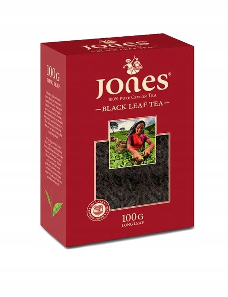 Черный листовой чай Jones 100 г
