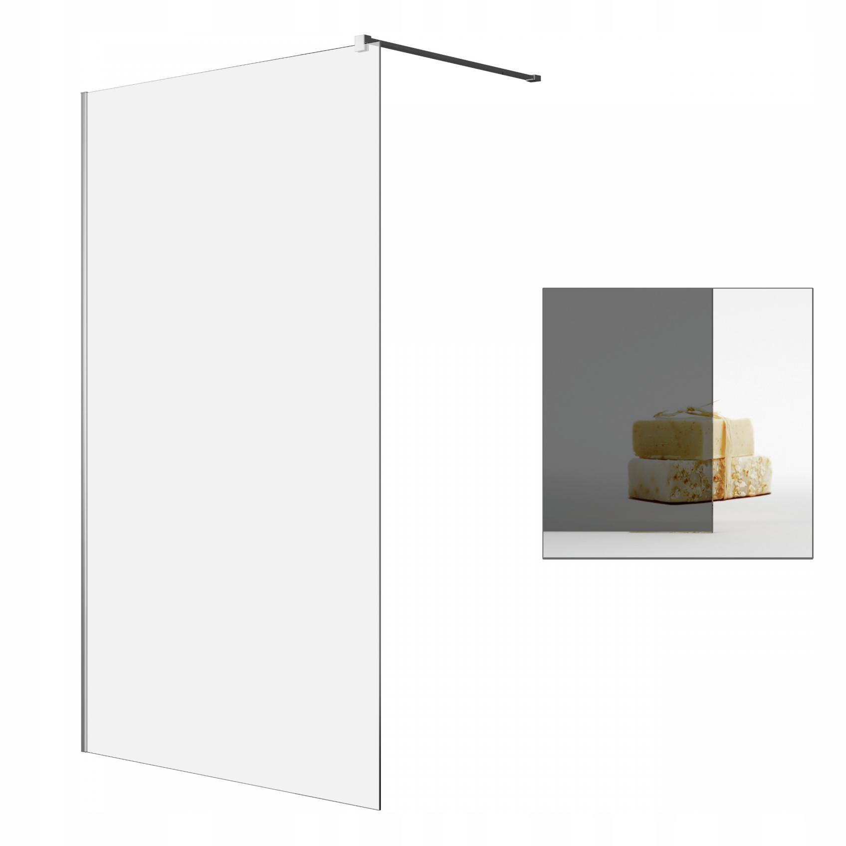 Sprchovací kút Walk-in Modo II Nové 150 grafit