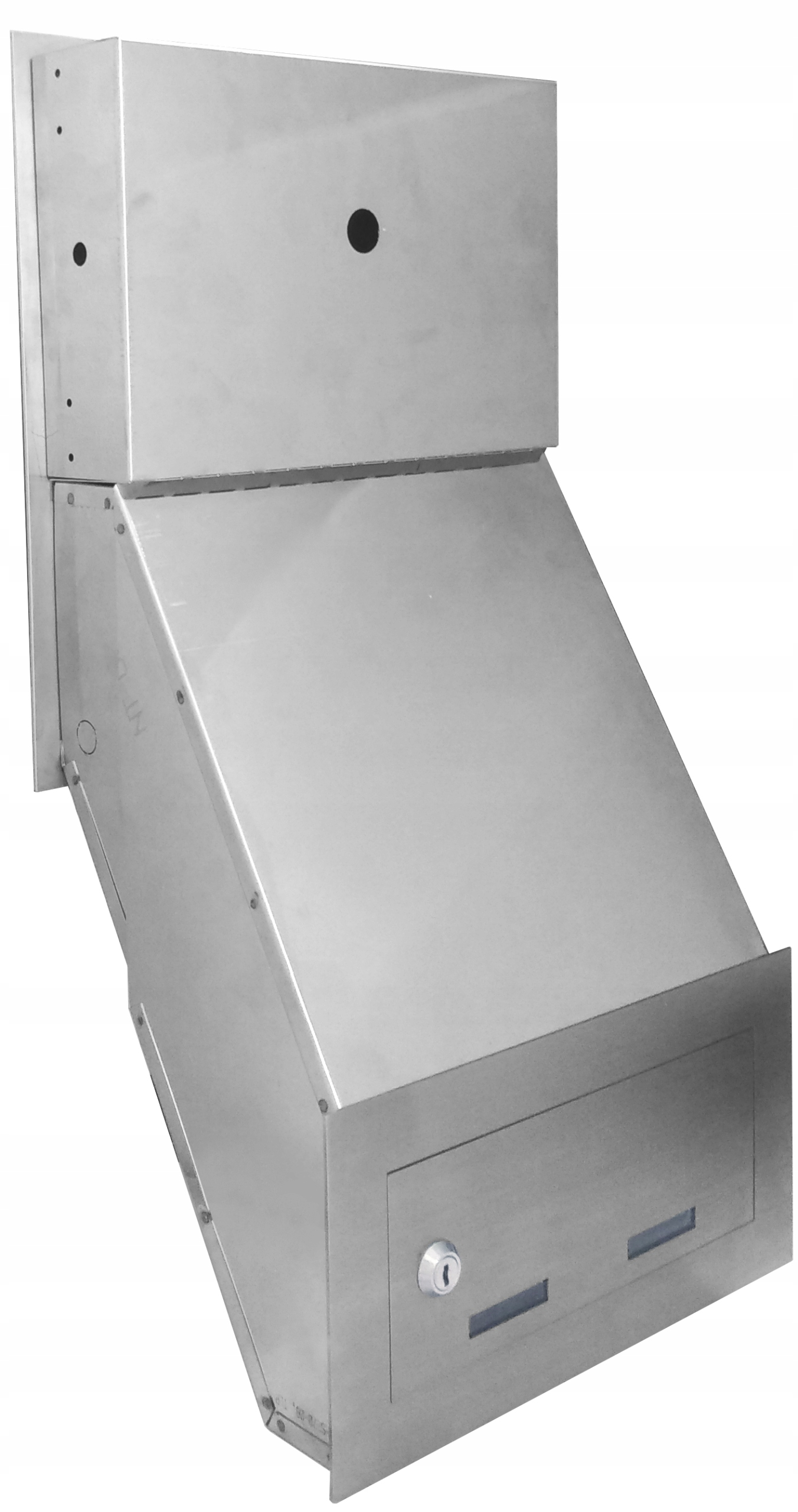 Wideodomofon Videodomofon ze skrzynką na listy FHD Kolor biały