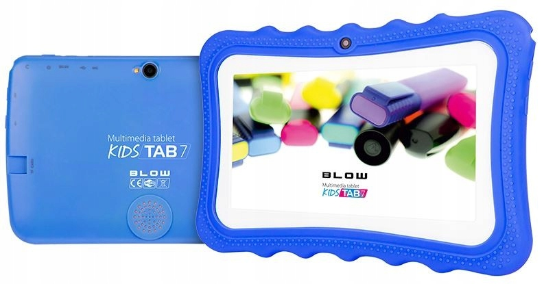 BLOW Tablet KidsTAB7.4HD2 quad blue + puzdro