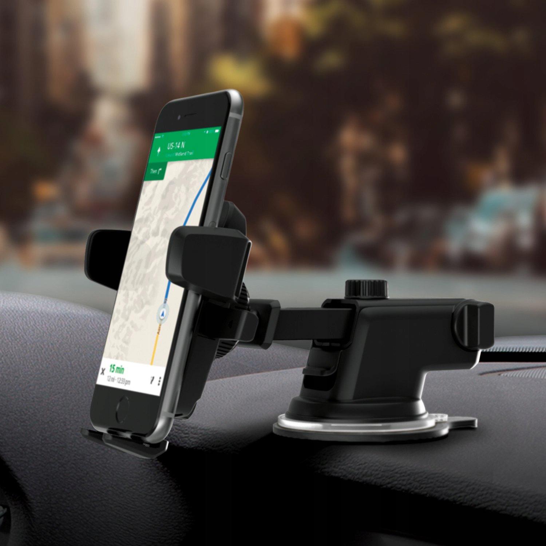 MOCNY Uchwyt Samochodowy na Telefon Szybę Deskę Rodzaj na szybę