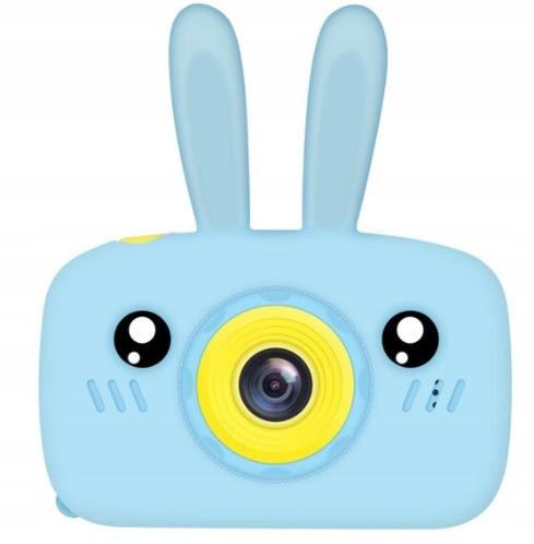Aparat Cyfrowy Kamera dla Dzieci LCD KRÓLIK GRY Materiał Guma Plastik