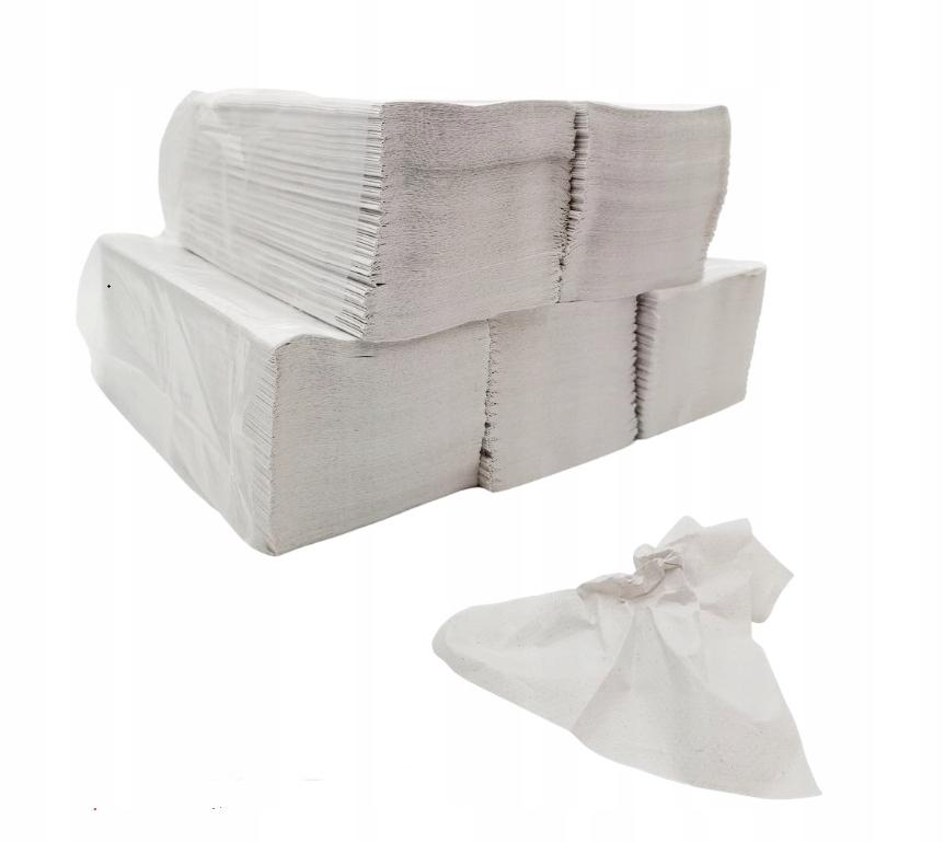 Бумажные полотенца складные для диспенсера ZZ 1250 шт.