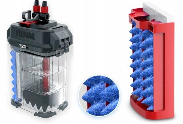 FLUVAL 307 внешний фильтр 1150L / h 15W ++бесплатно! Максимальная высота нагнетания воды 175 см