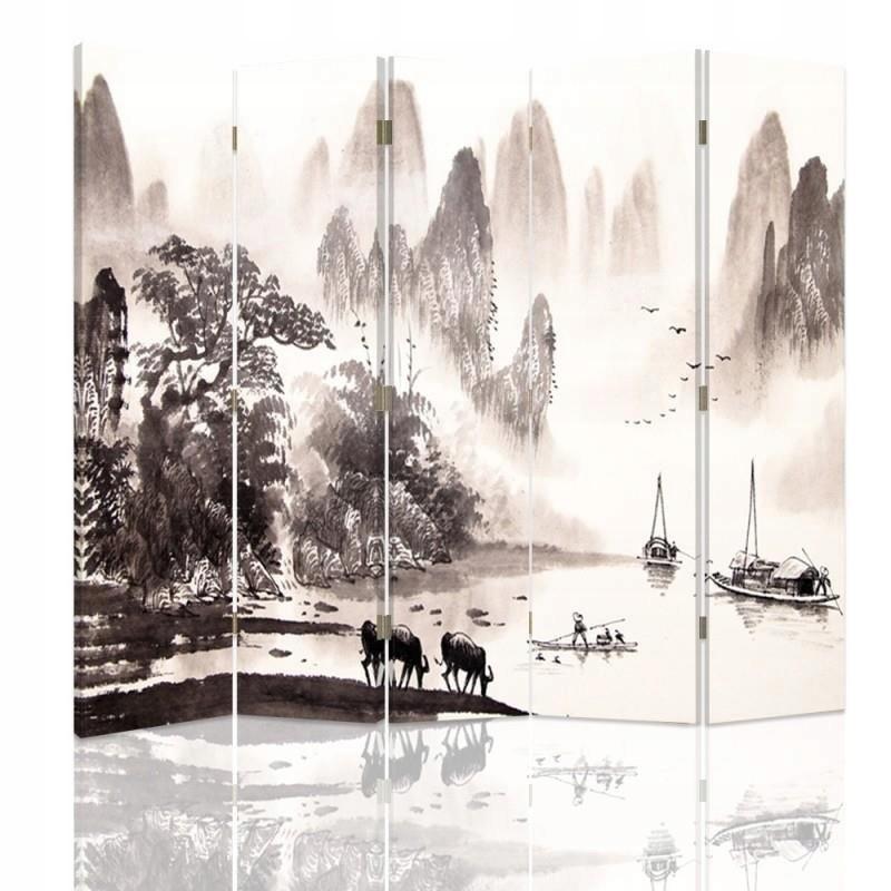 Displej na stenu oblasť krajiny retro 180x180