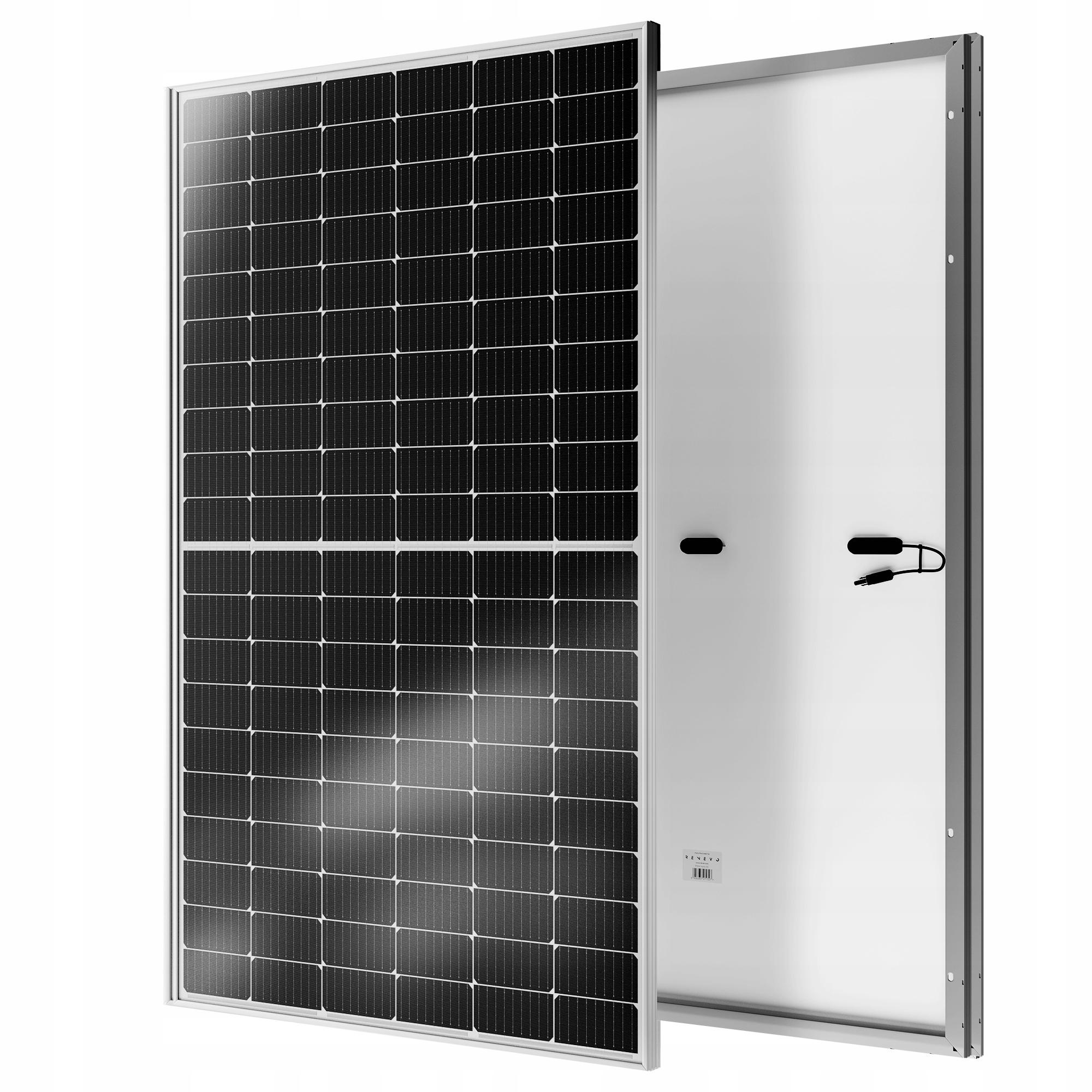 Моно солнечные панели PERC Half-Cut мощностью 370 Вт