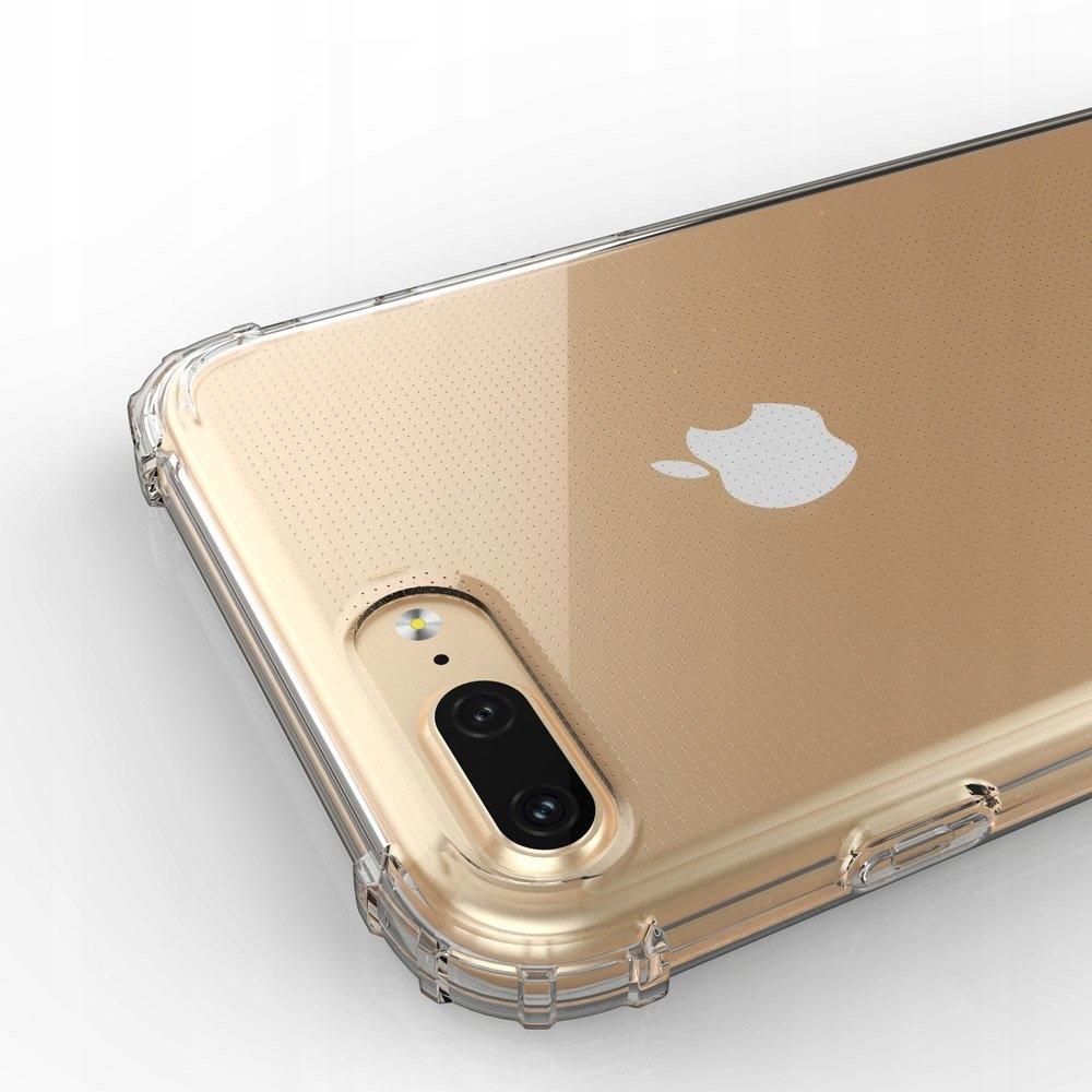 Pancerne etui A-Shock + szkło do iPhone 7 / 8 Plus Materiał tworzywo sztuczne