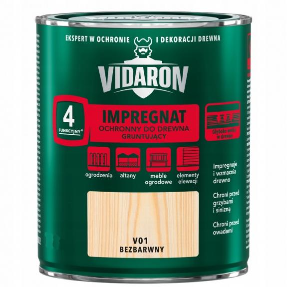 Vidaron Пропитка Грунт для дерева бесцветный 9Л