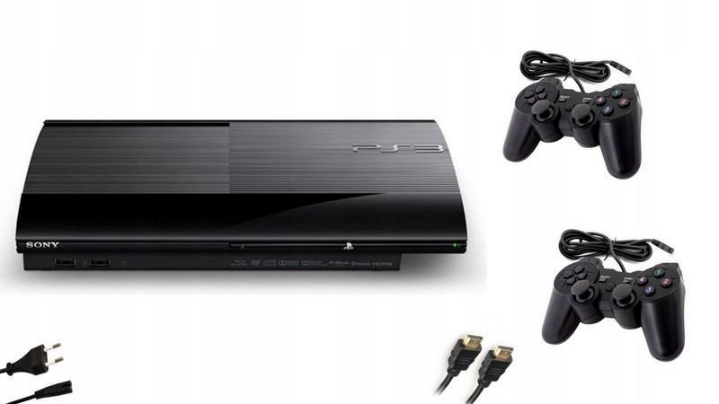 Sony PS3 Super Slim 2 Pads! Hra