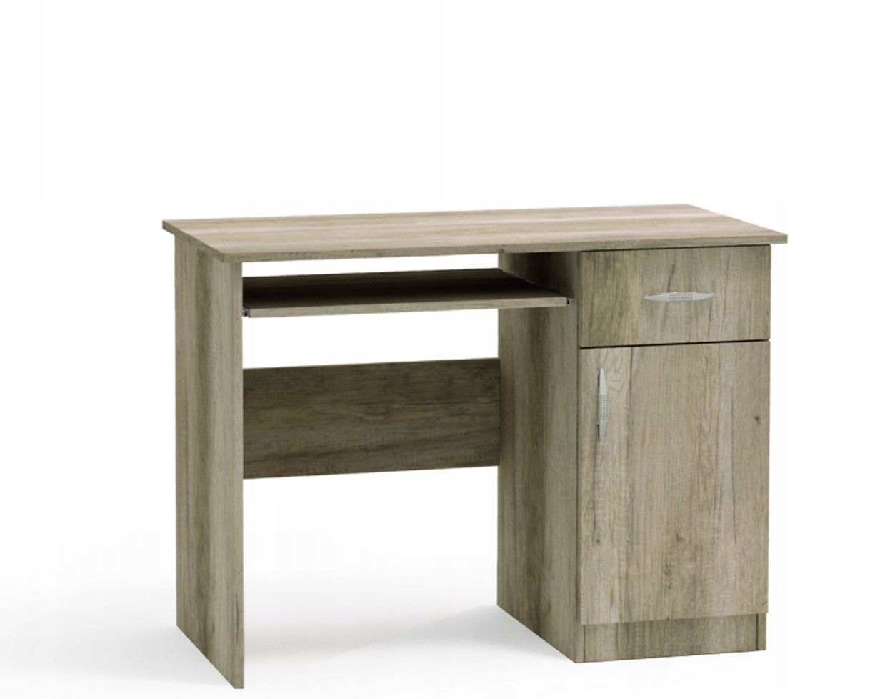 Stôl BARTEK 100 cm s posuvnými top dub SONOMA