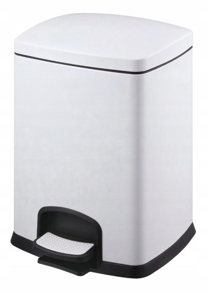 Biely odpadkový kôš 20L STELLA 20.20320-W