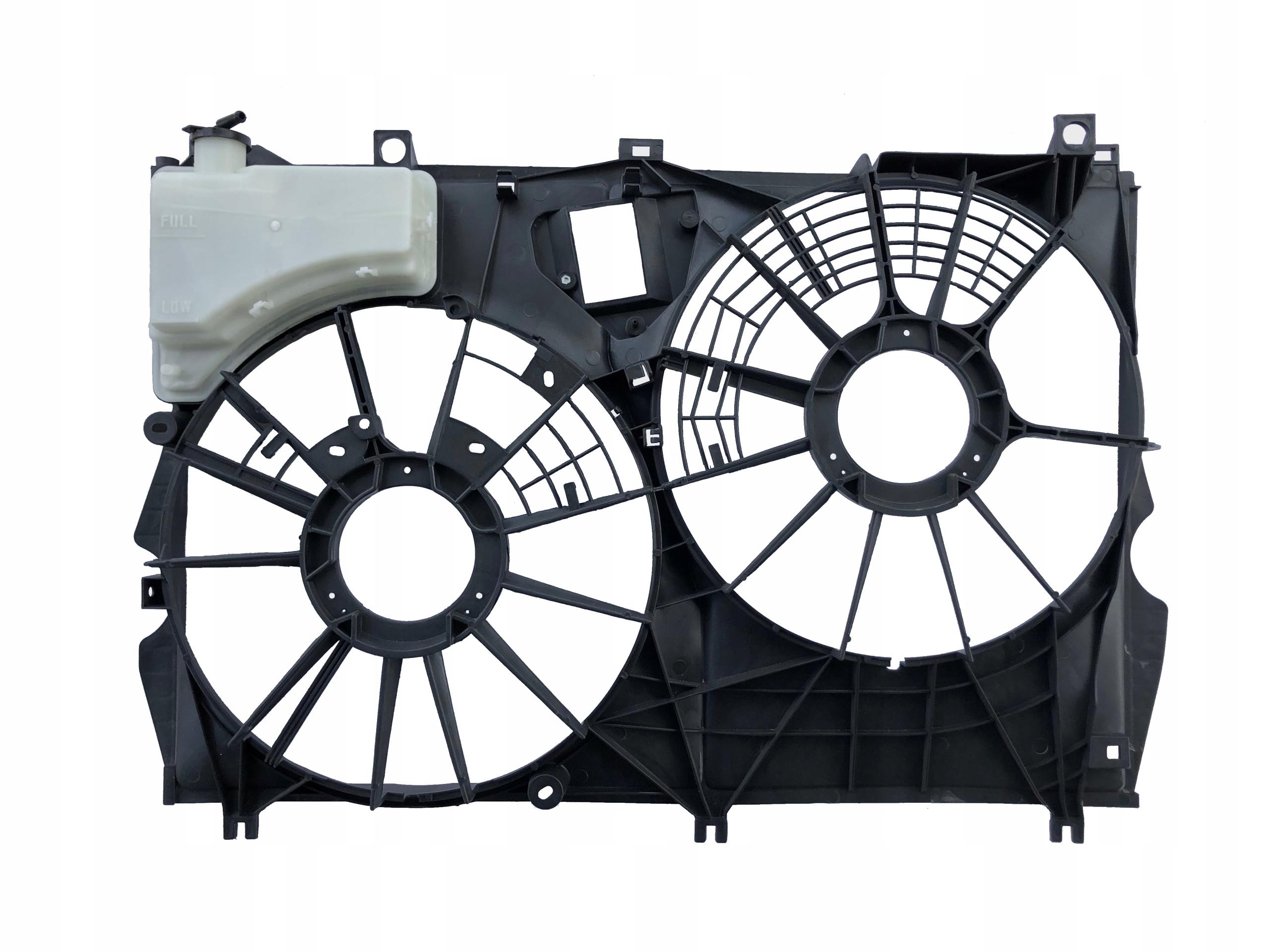 корпус вентиляторов lexus rx 350 2016-