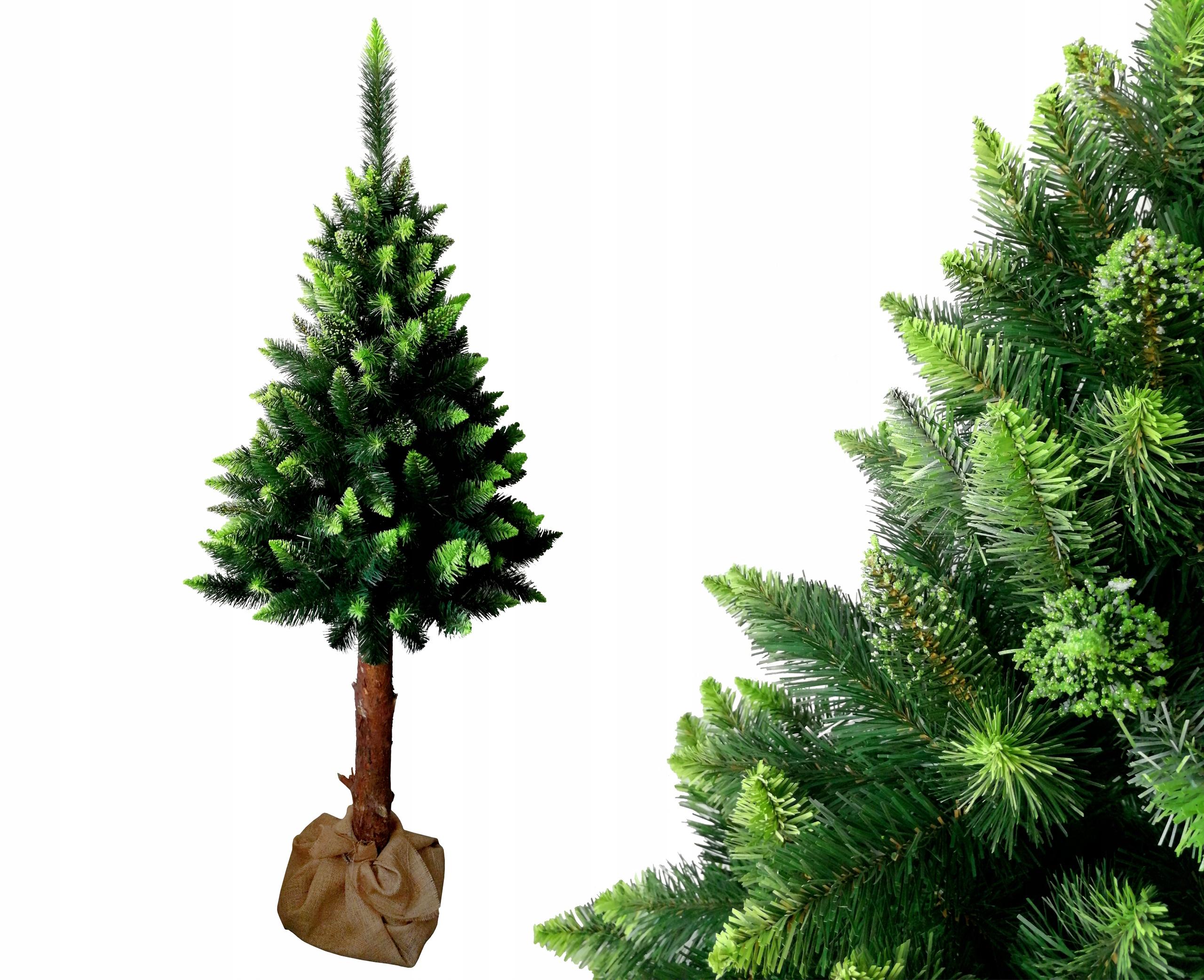 Vianočný stromček DIAMOND PINE GREEN na kufri 160 cm