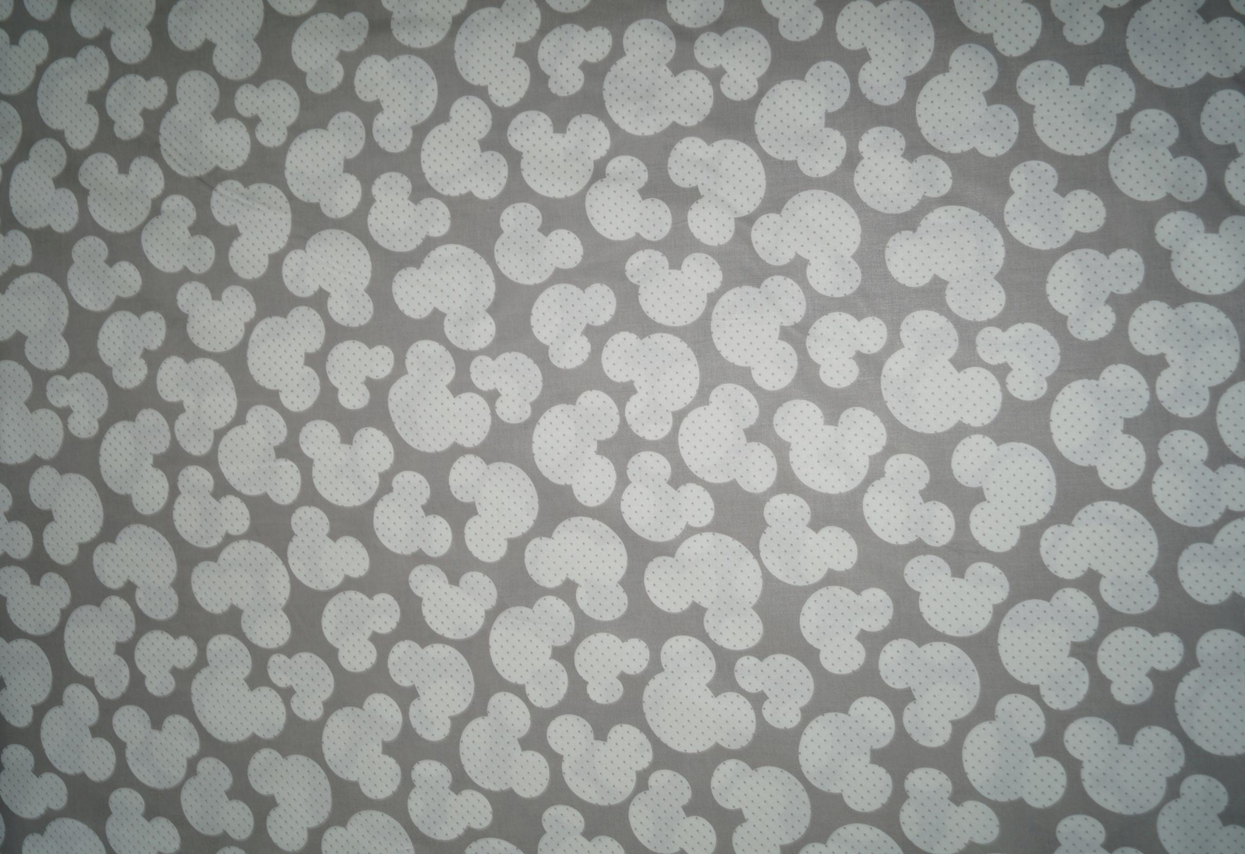 Tkanina Bawełniana Pościelowa Myszka Miki Uszy