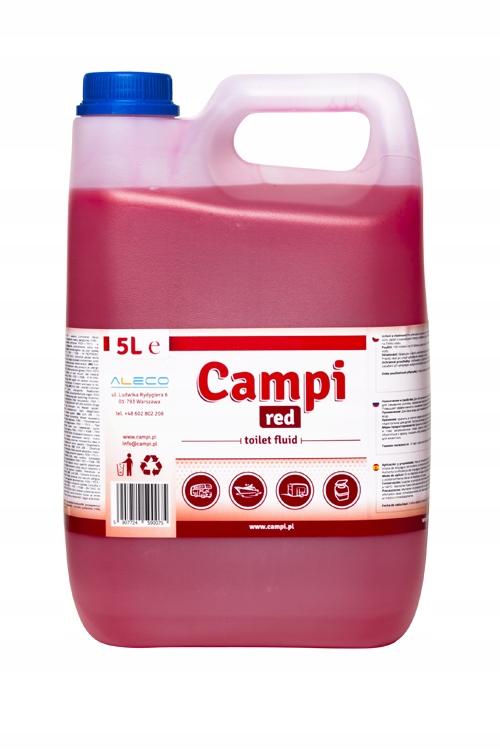 Купить Моющее средство Campi Red 5L для туристических туалетов на Otpravka - цены и фото - доставка из Польши и стран Европы в Украину.
