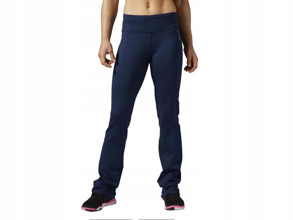 Spodnie Damskie Reebok sportowe dresy AJ3495