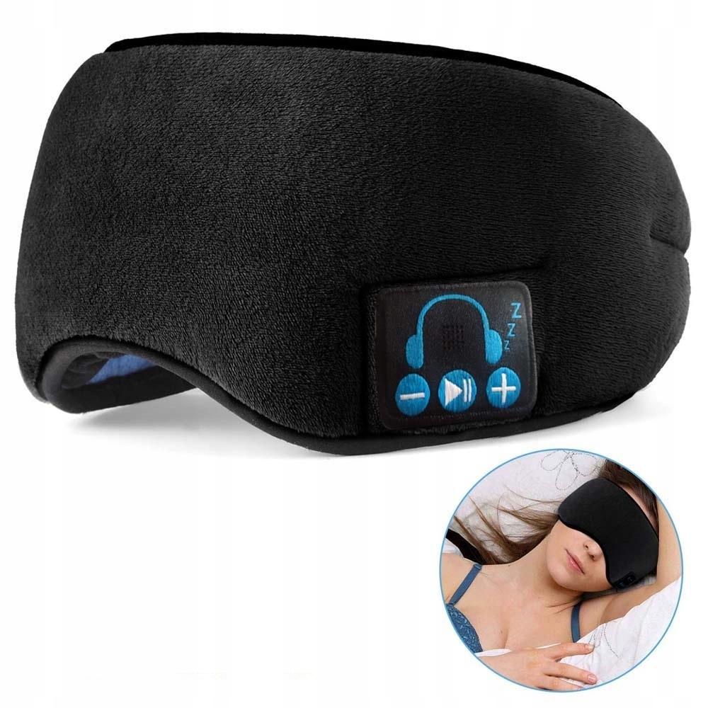 Opaska Maska Na Oczy Do Spania Bluetooth Sluchawki 8657781331 Allegro Pl