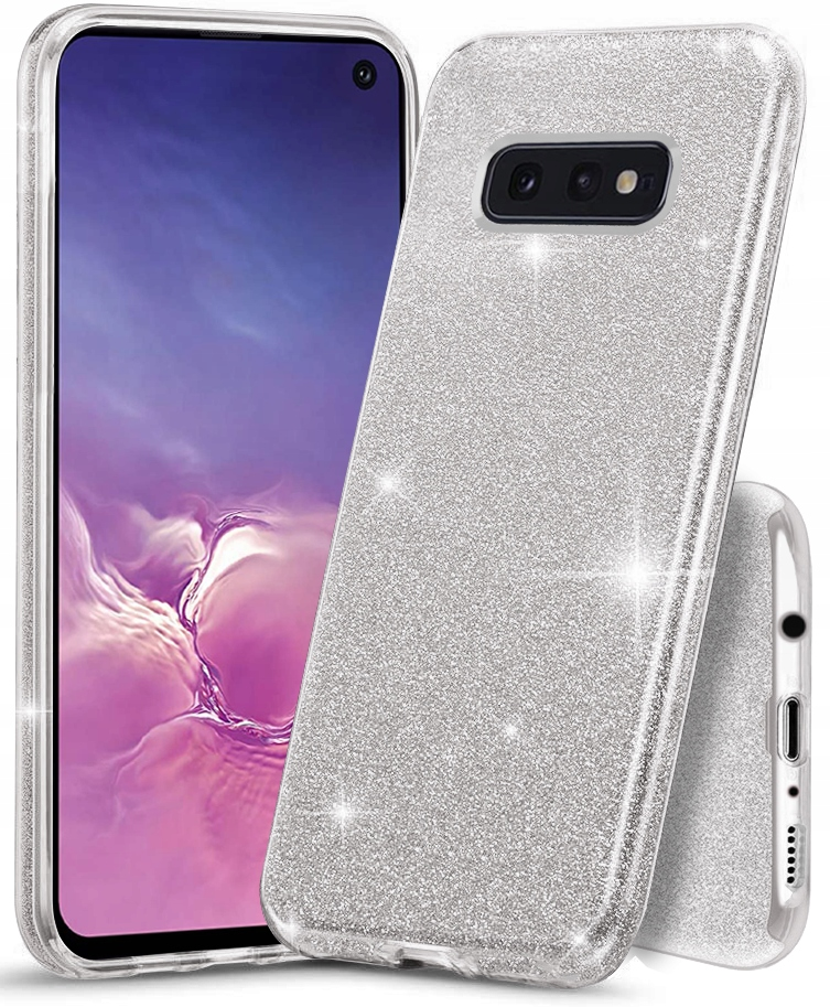 Etui CASE BROKAT + SZKŁO 9H do Samsung Galaxy S10E