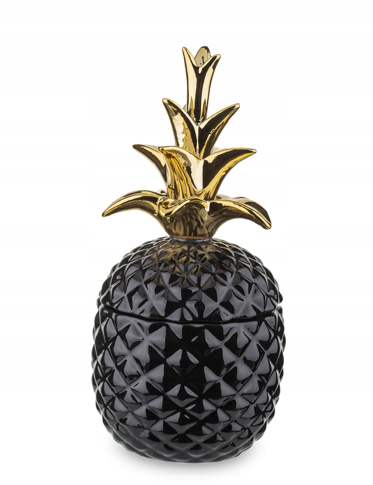 Ceramika HAMER czarny ananas XL, premium