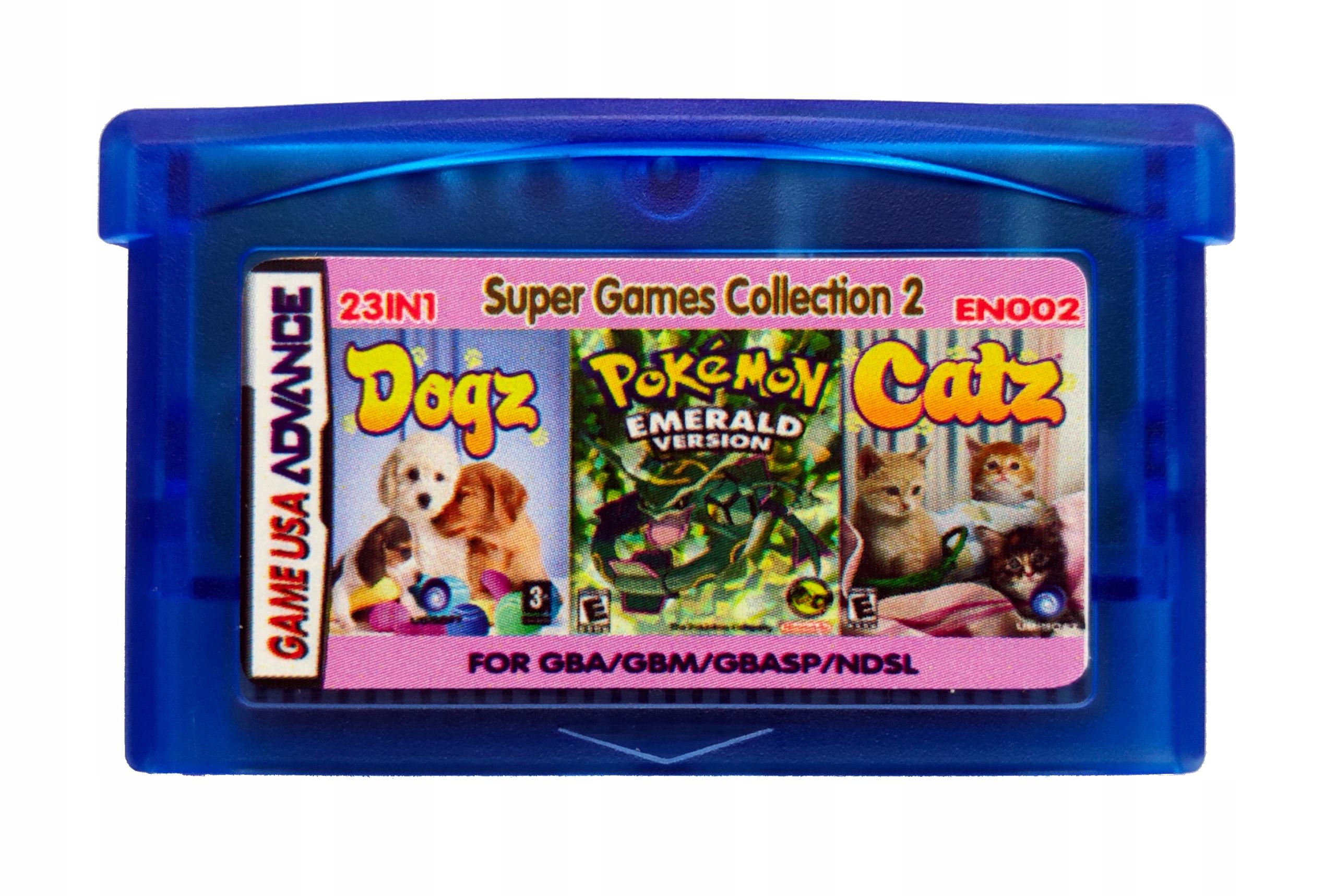 23 v 1 GBA GameBoy Advance Pokemon Emerald, Záverečná