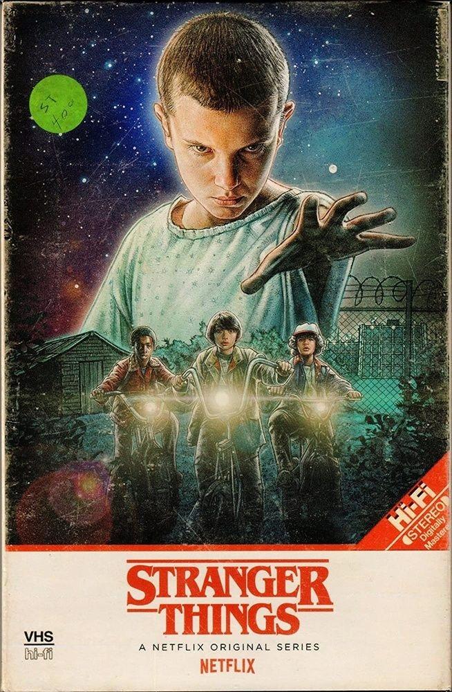 Stranger Things [2 Blu-ray 4K] Sezóna 1 / VHS Retro /