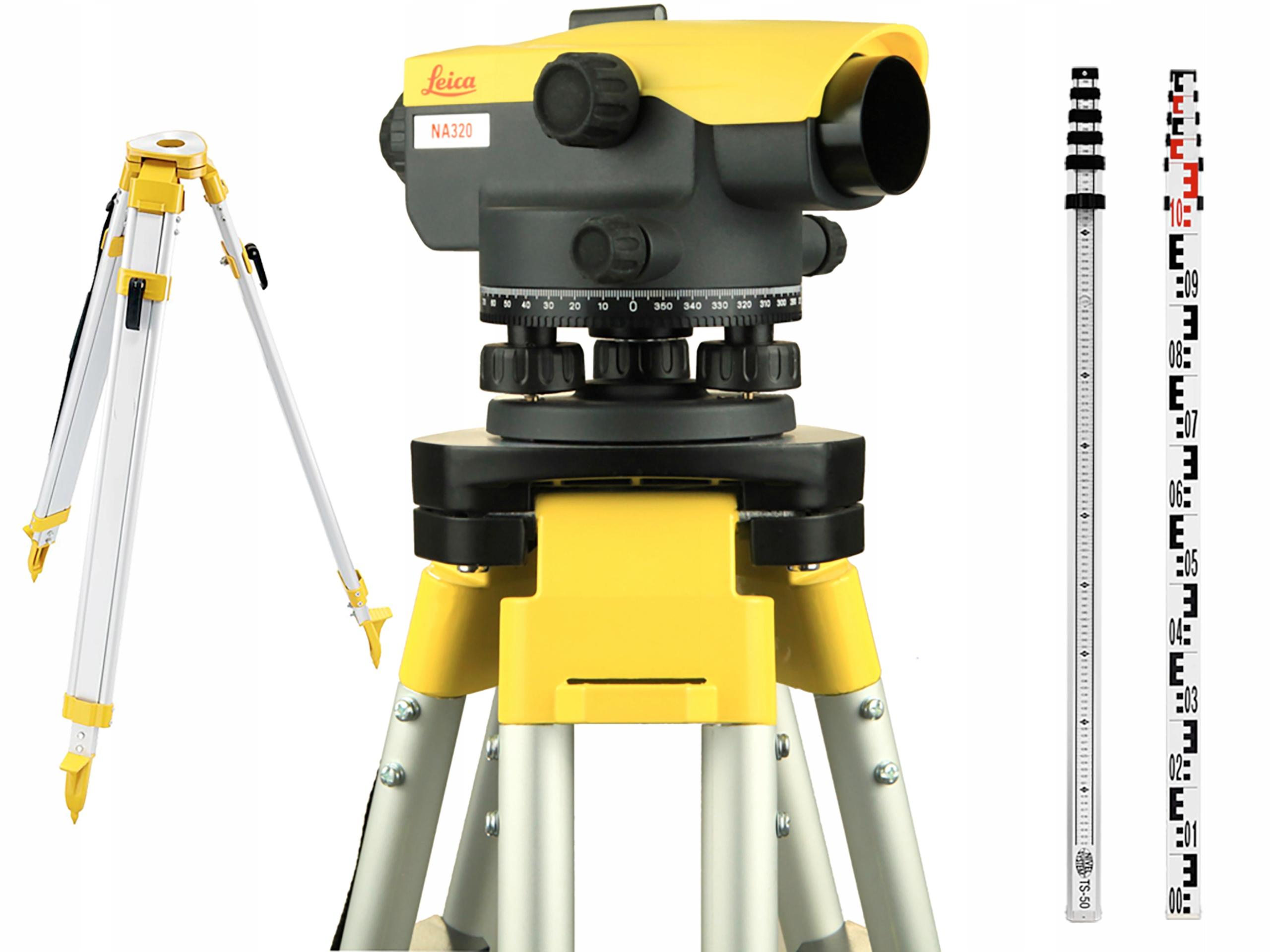Optická úroveň Leica Na320 Full Set Nový