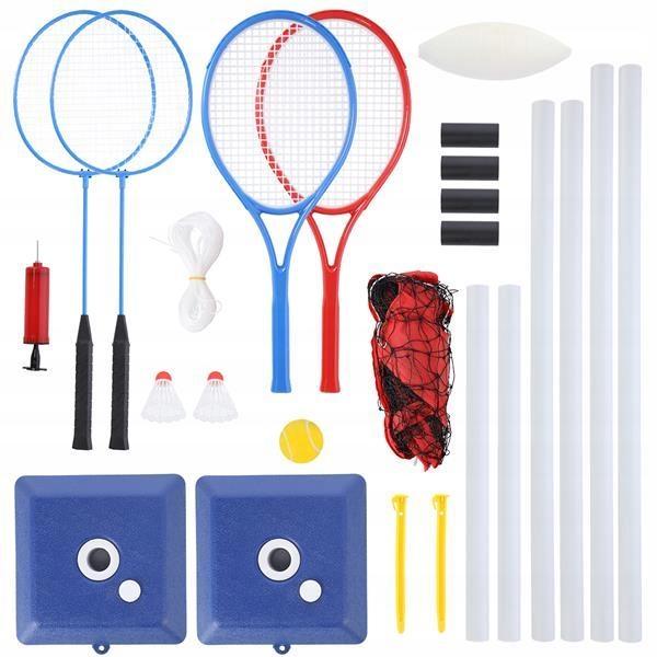 Купить KIT Сетка для бадминтона, тенниса, волейбольных ракет на Otpravka - цены и фото - доставка из Польши и стран Европы в Украину.