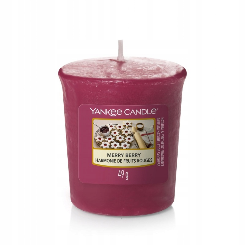 YANKEE CANDLE Вотив сэмплер MERRY BERRY