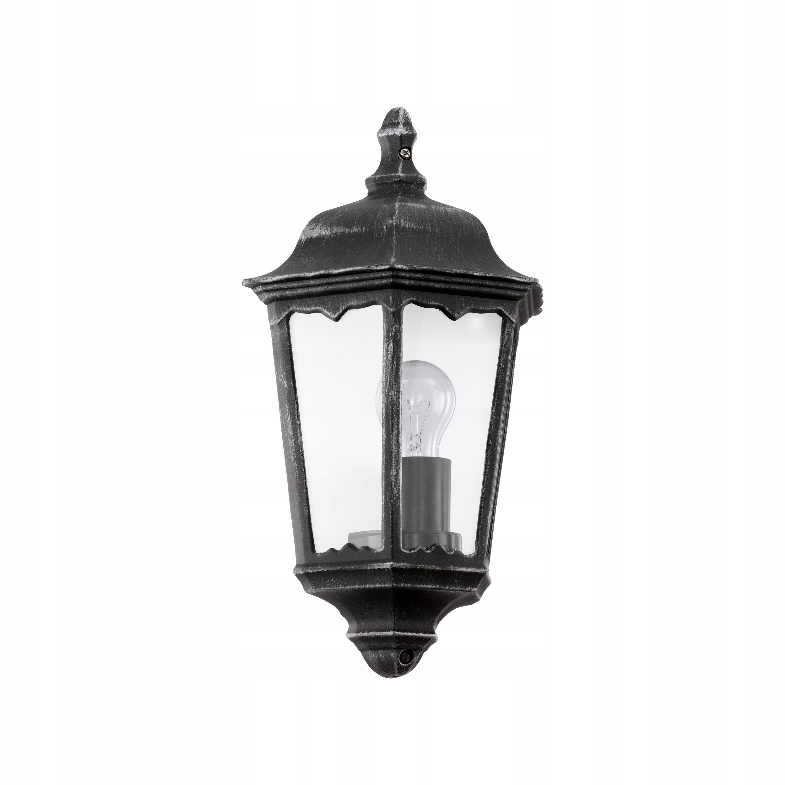 Eglo Navedo 93459 Čierne Retro Vonkajšie Nástenné Svietidlo