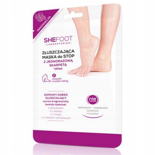 Shefoot exfoliačné ponožky