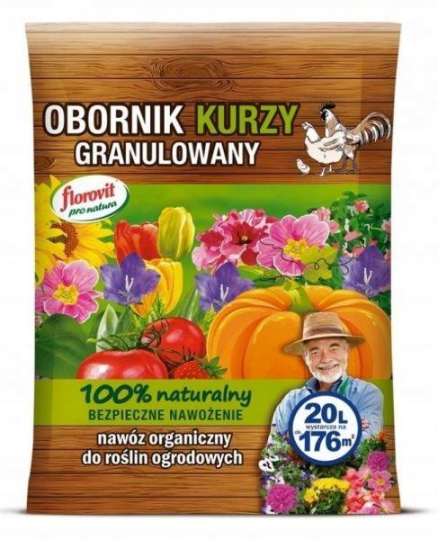 Obornik kurzy granulowany Florovit pro natura 20 l