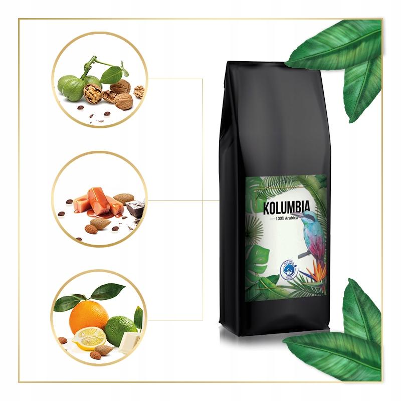 Kawa ZIARNISTA 2kg ŚWIEŻO PALONA Arabika 100% Wielkość opakowania (g) 1000 g