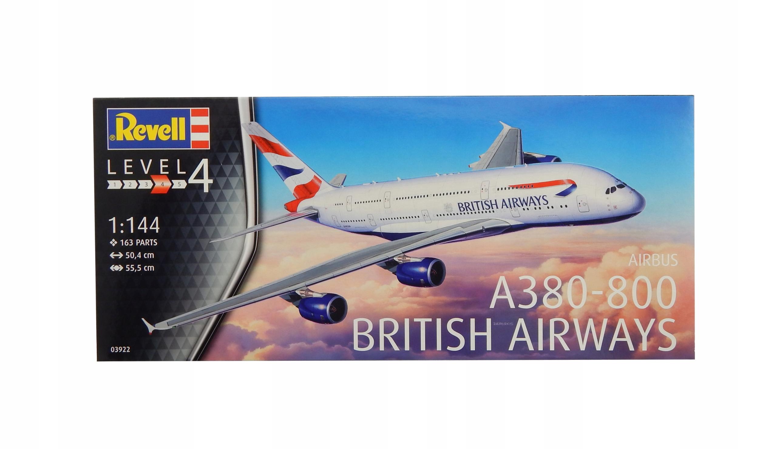 A8949 Model samolotu do sklejania Airbus A-380