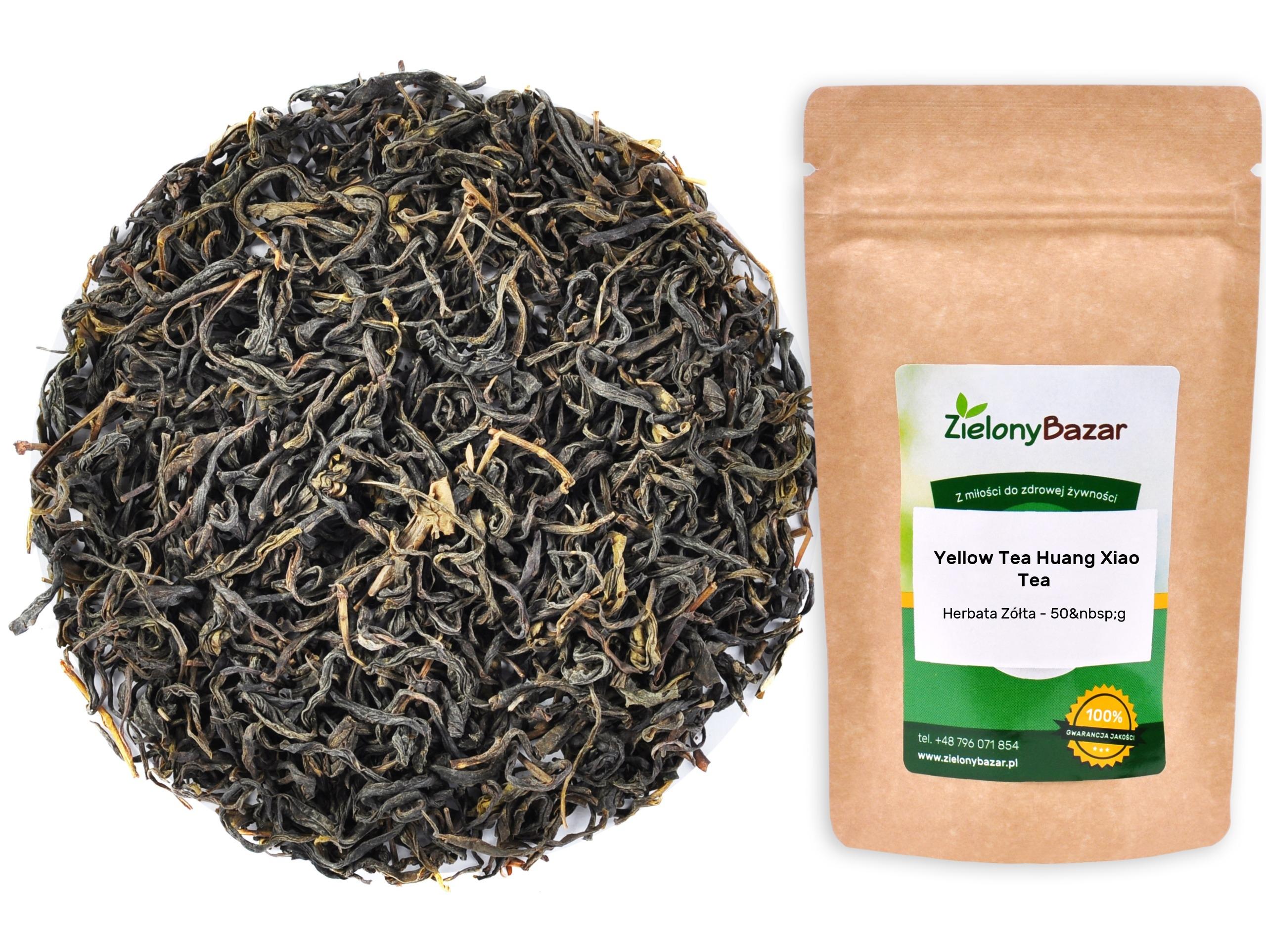 ЖЕЛТЫЙ ЧАЙ HUANG XIAO TEA Yellow Tea 50g HIT