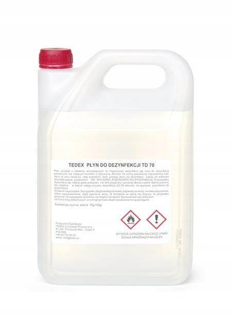 Tedex жидкость для дезинфекции TD 70 5Л