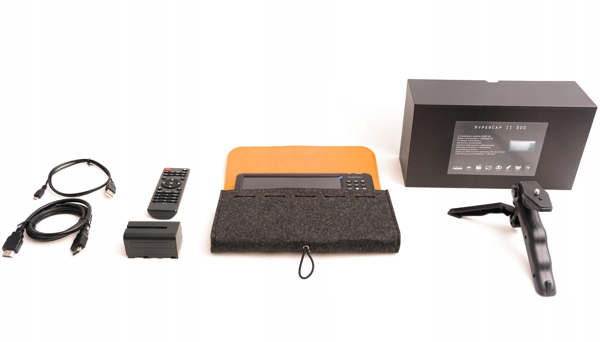 HyperCap II Duo - 2xHDMI przenośna nagrywarka Producent Velocap