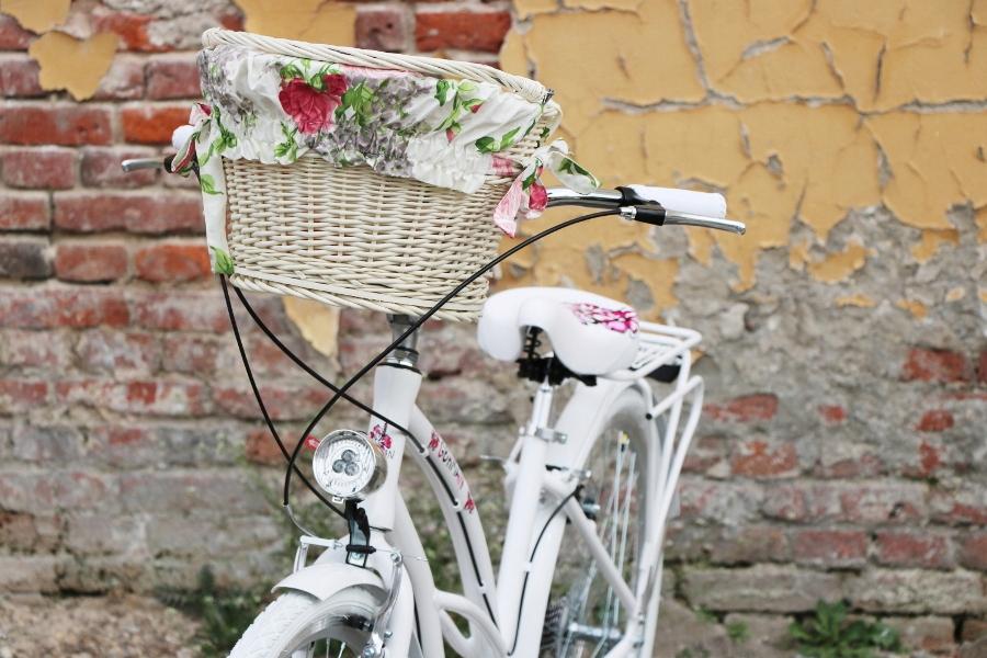 krásny dámsky plážový krížnik 28 city G bike Voliteľné príslušenstvo, kufor, blatníky, osvetlenie, stojan, chránič reťaze