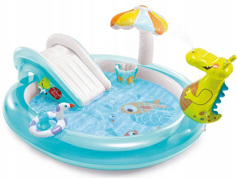 Бассейн Alligator Playground Intex Slide 57165