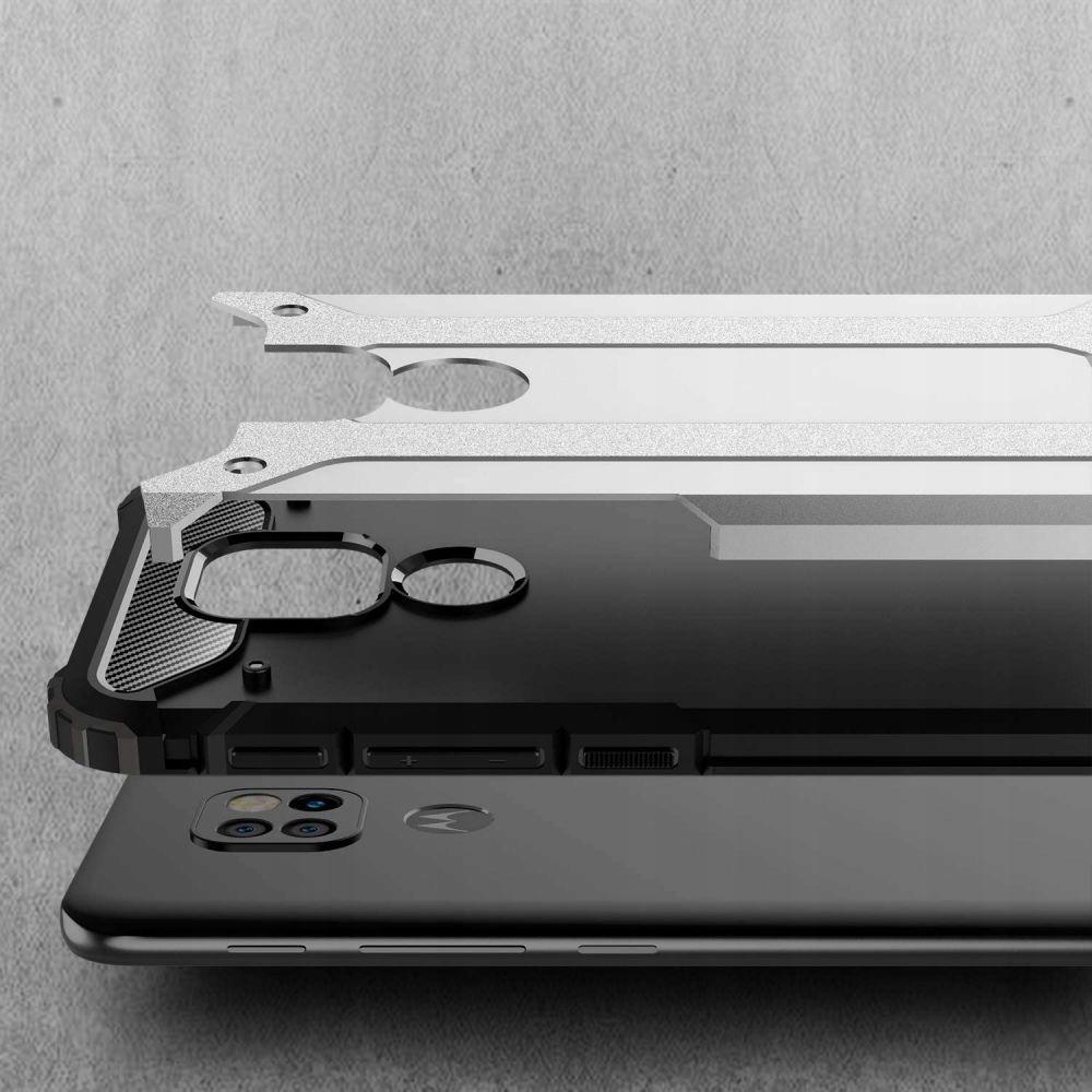 Etui Xarmor + szkło do Motorola G9 Play / E7 Plus Kolor czarny