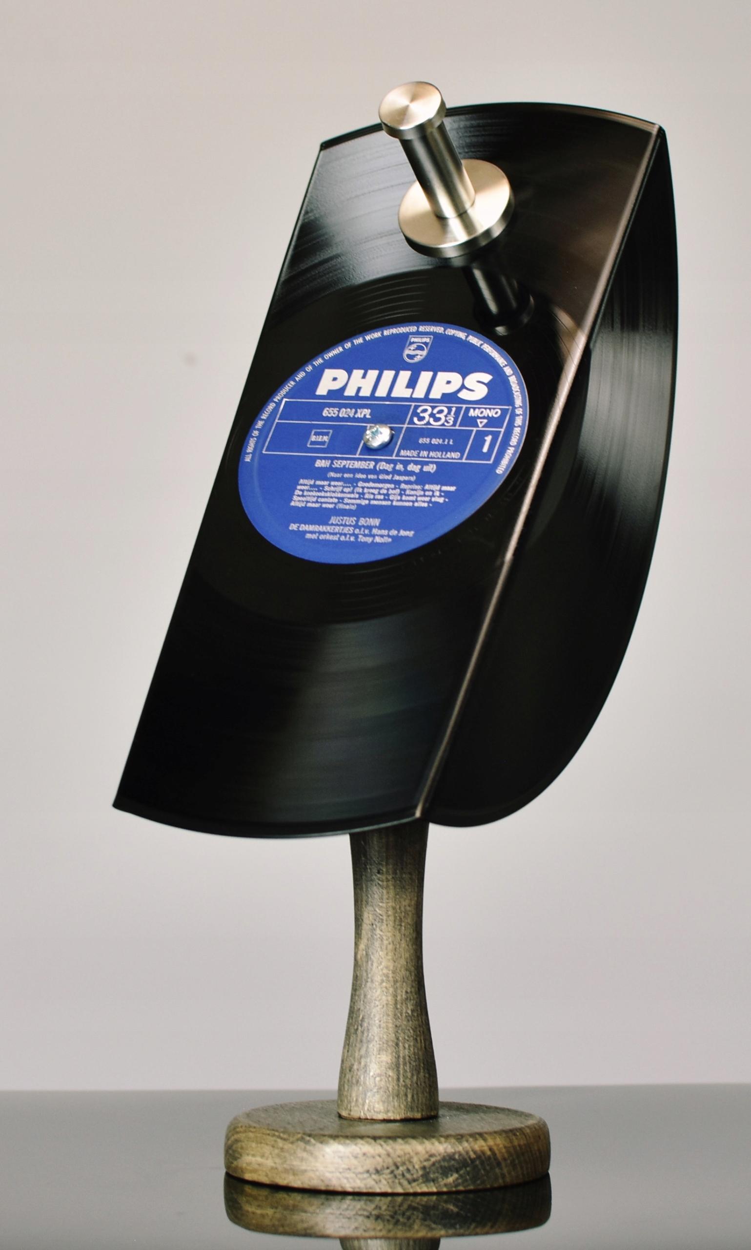 Držiak na vešiak na slúchadlá, retro vinylový držiak