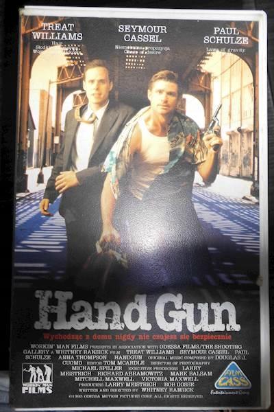 Item Hand Gun - VHS cassette