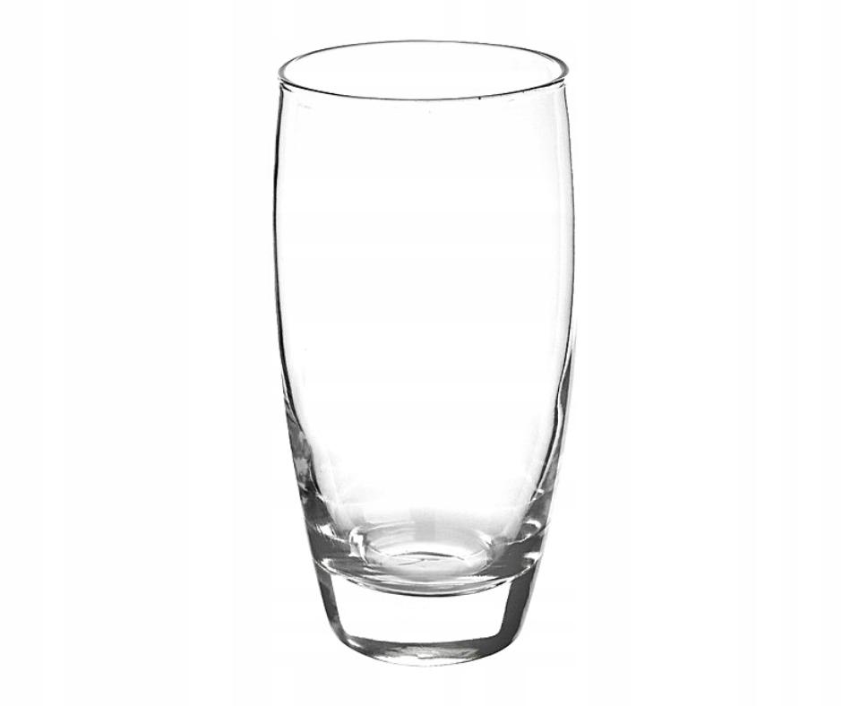 ZESTAW SZKLANEK DO DRINKÓW NAPOJÓW 6 SZT SZKLANKI Pojemność 350 ml