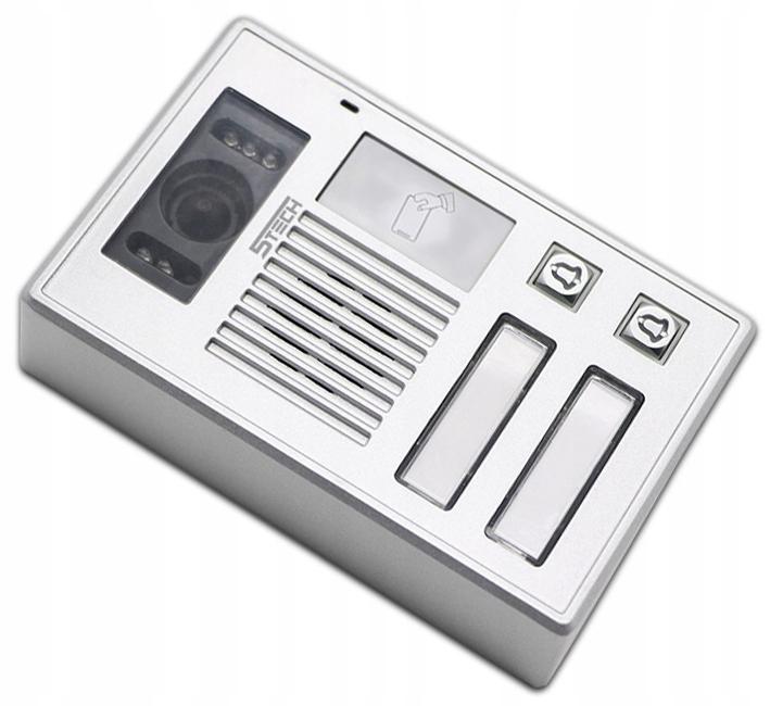 Wideodomofon Videodomofon WiFi FHD 5TECH TELEFON Informacje dodatkowe Czytnik kart zbliżeniowych Ekran dotykowy Sterowanie napędem bramy