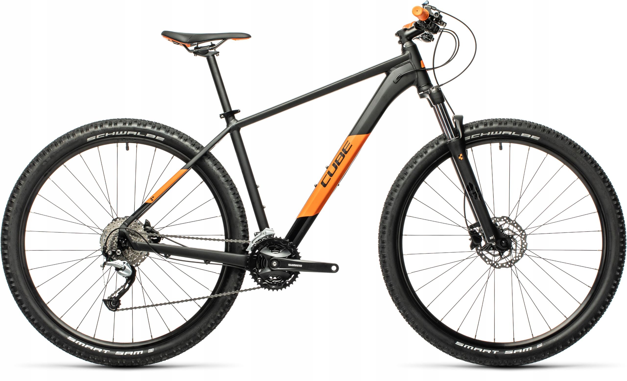 CUBE AIM SL black orange 2021 XXL/23