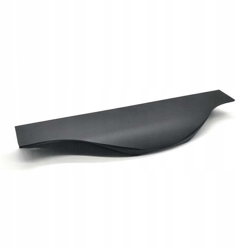 Кромочный держатель DUA04 96мм черный мат.