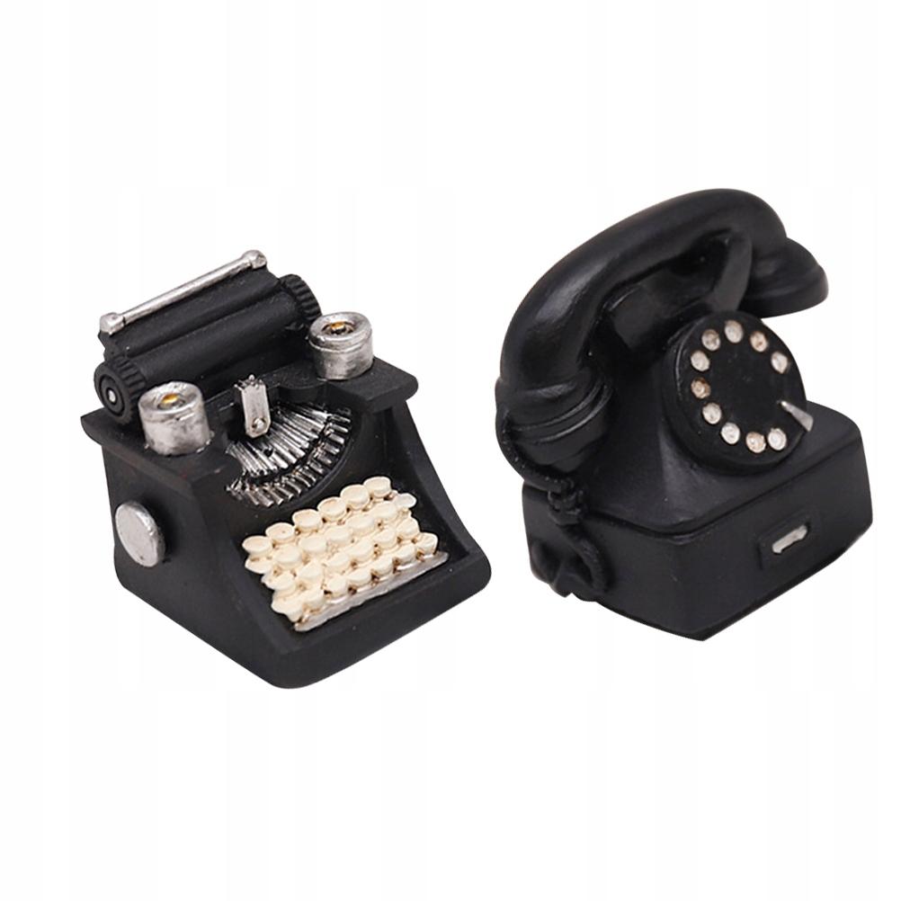 2ks Retro písací strojček na telefón K