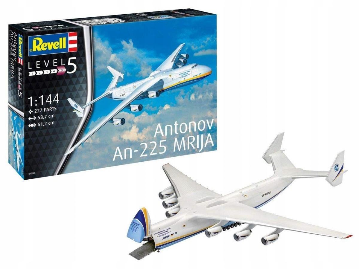 REVELL Plastový model Antonov AN-225 Mrija
