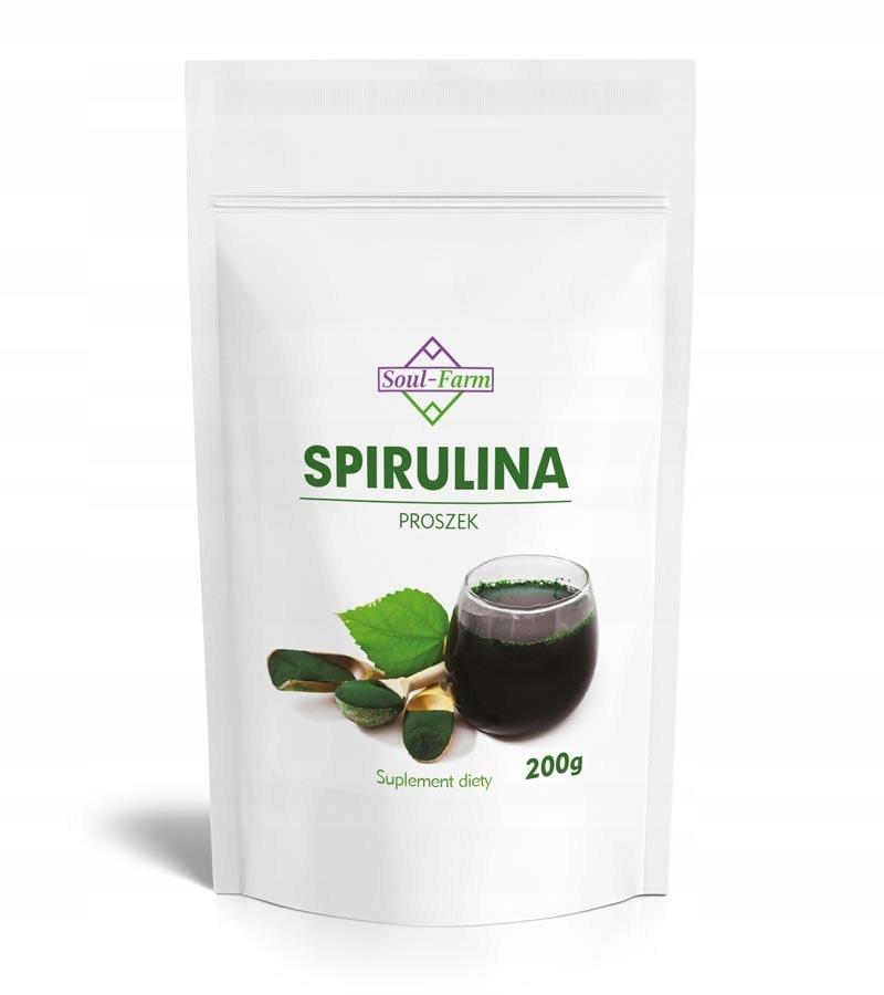 Купить 100% SPIRULINA PROSZEK 200g czyste algi morskie на Otpravka - цены и фото - доставка из Польши и стран Европы в Украину.