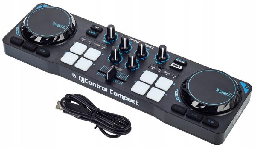 Item Console DJ Hercules DJ Control Compact USB