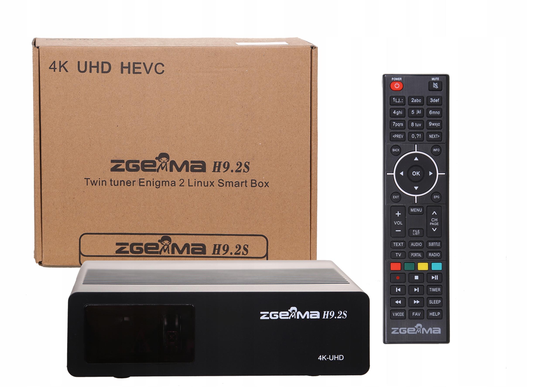ZGEMMA H9.2S 4K ENIGMA2 Cccam Iptv Oscam